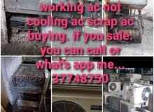 all type not working AC buying
