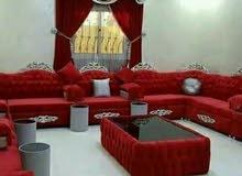 new making sofa, majlis, curtain. Recovering old sofa, majlis.