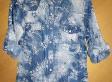 قمصان بناتي بسعر الحرق