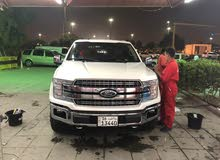 km mileage Ford F-150 for sale