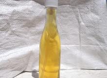 ماء الورد +خل العنب (خل البكر)