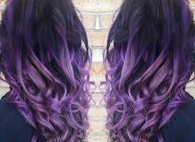 مطلوب مصففة شعر لديها الخبرة في المعالجات والصبغات + مسوقة (مندوبة مبيعات)