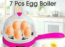 مقلى سلق البيض بالبخار مقلايه كهربائيه