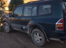 Mitsubishi Pajero 2002 For sale - Green color