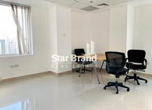 OFFICE SPACE FOR RENT IN ABU DHABI CITY.