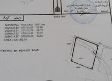للبيع ارض سكنية ممتازة مفتوحة من 4 جهات في السوادي الحكمان مقابل دوار السوادي الساحل