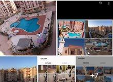 مرسي مطروح شقة مصيف على شاطىء الروميلة  ومينا حشيش
