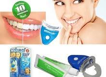 جهاز اليزر  لتبييض الاسنان المنزلي