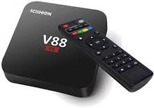 V88 UHD 4K Android 5.1 Smart TV Box 1 8GB Quad-Core WiFi HD 1080P 3D, WiFi, KODI