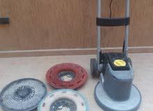 ماكينة كارشر لتنظيف وغسيل السجاد و جلاية جلي و تلميع الارضيات مستعملة بحالة ممتازة