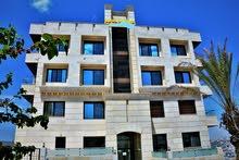 شقة للبيع طابق ثالث 135 متر + روف 125 متر  _ ضاحية الامير علي _ اطلاله رائعة