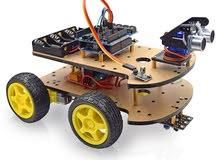 سيارة ذكية تعلمية قابلة للبرمجة بالأردوينو