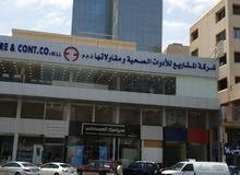 مكتب للايجار مساحه 16 متر في الميزانين شارع تونس 67785099