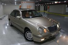 Automatic Beige Mercedes Benz 2001 for sale