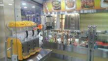 أدوات وعدة مطعم شبه وكالة للبيع