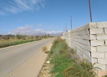 مزارع للبيع في ترهونة ًً المساحه هكتار وعلي الطريق الرئيسي  عليه سور كامل يوجد ب