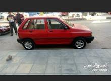 سياره كيا برايد موديل 98 للبيع ثلاث جيد لون احمر
