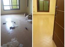 01152233611 شركة جنة لخدمات نظافة منازل وفلل وشركات والمصانع والمعارض