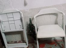 Available for sale in Basra - Used Tables - Chairs - End Tables