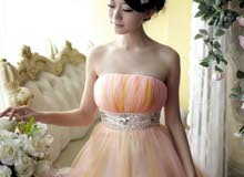 فستان سهرة روعة
