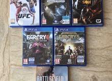 مصراته  PS4 games للبيع او التبديل