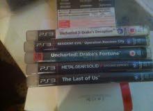 ألعاب ps3  للبيع مع بعض