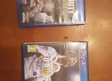 Fifa 18 .. Call Of Duty PS4