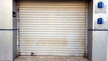 باب حديد كهربائي لمحل تجاري مع ماتور ايطالي اصلي للبيع