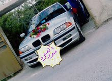 Silver BMW 318 1999 for rent