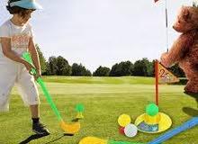 لعبة جولف للاطفال اسيكات ستانلس ثلاث اجوال