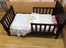 سرير أطفال مع فرشة جونيور
