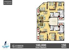 شقة تحت الانشاء من المالك مباشر