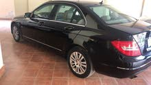 Black Mercedes Benz C 180 2012 for sale