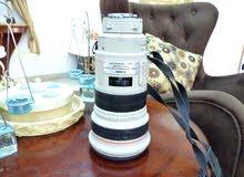 عدسة كانون احترافية  300 mm 2.8 مع مانع اهتزاز