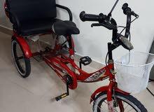 دراجات متنوعة بحالة ممتازة