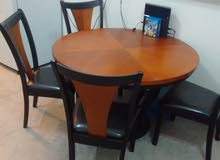 Dinning table 4chairs طاولة طعام *price reduced*