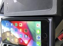iphone 8 plus grey 64gbوكاله مكفول سنه