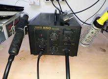 كاوية صيانة النقالات مستعملة soldring station