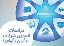 دراسات جدوى شركات التأمين بأنواعها