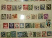 مجموعة طوابع قديمة و نادرة لبلدان العالم (حوالي 1500 طابع)