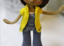 دمية يدوية للبيع- Handmade doll for sale