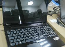 لابتوب توشيبا مستعمل c50 انظيف جدا بكرت شاشة نفيديا