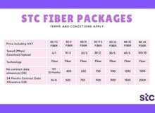stc fiber packages :pay less use more
