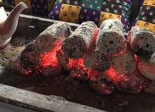 للبيع حطب وفحم للمطاعم ولطلعات البر