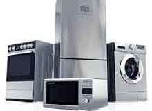 صيانة جميع انواع الثلاجات و المكيفات والغسالات داخل المنزل 24 ساعة
