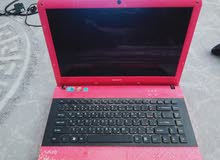 Laptop Sony Vaio Intel Core I5 pink color in good working condition for sale