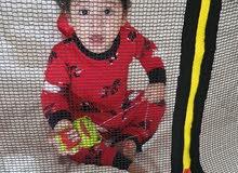 جامبلون اطفال من Toyser usبحالة ممتازة 40 متر