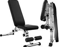 كرسي التمارين قابل للطي الاصدار الثالث workout bench foldable