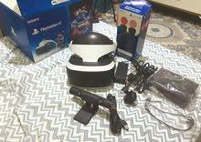 نظارة VR بلايستيشن كاملة مع موفات والعاب فيرجن2
