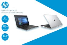 لابتوب Hp Probook 430 G5 (جيل ثامن) مستعمل فقط 1400 شيكل